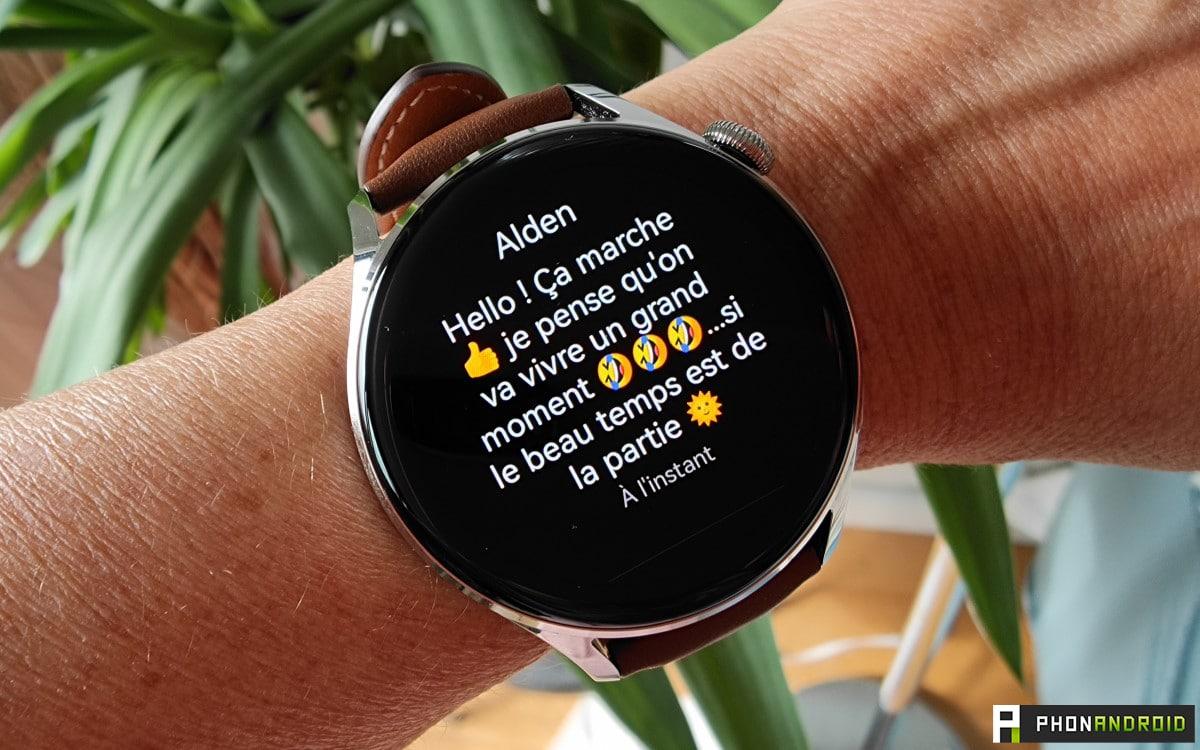 Huawei Watch 3 sms