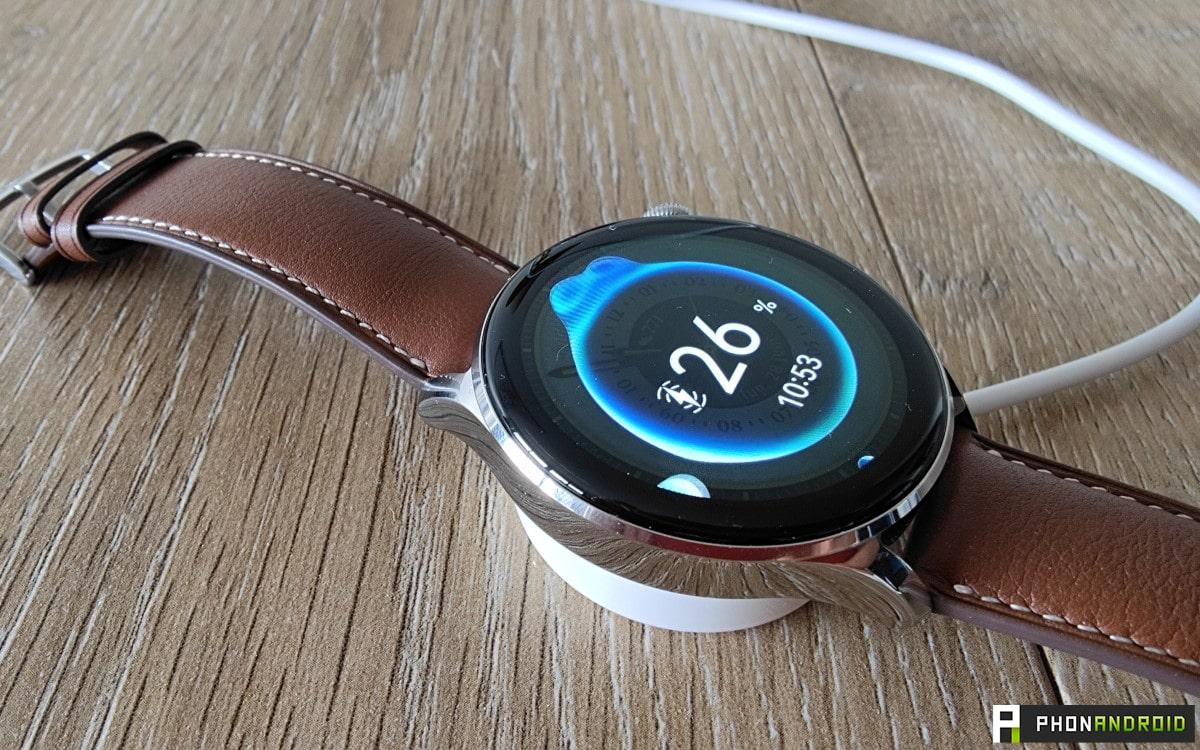 Huawei Watch 3 chargement