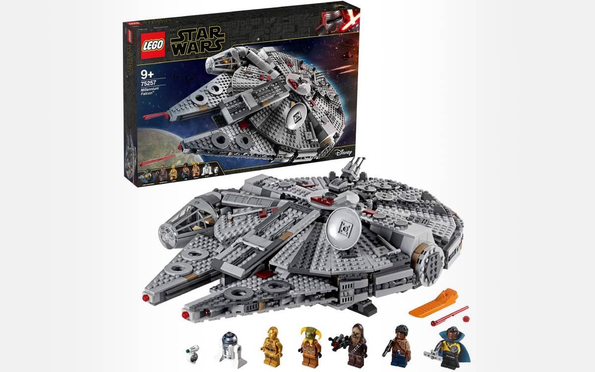 LEGO 75257 Star Wars Faucon Millenium à prix réduit
