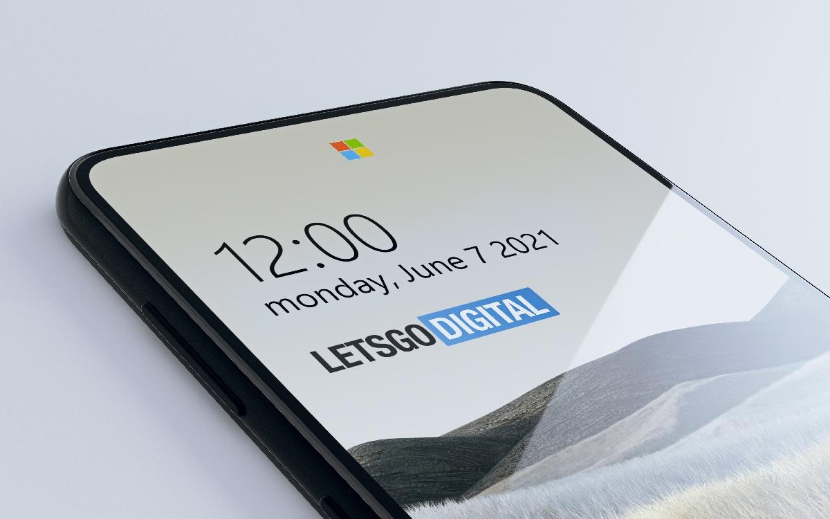Microsoft capteur logo