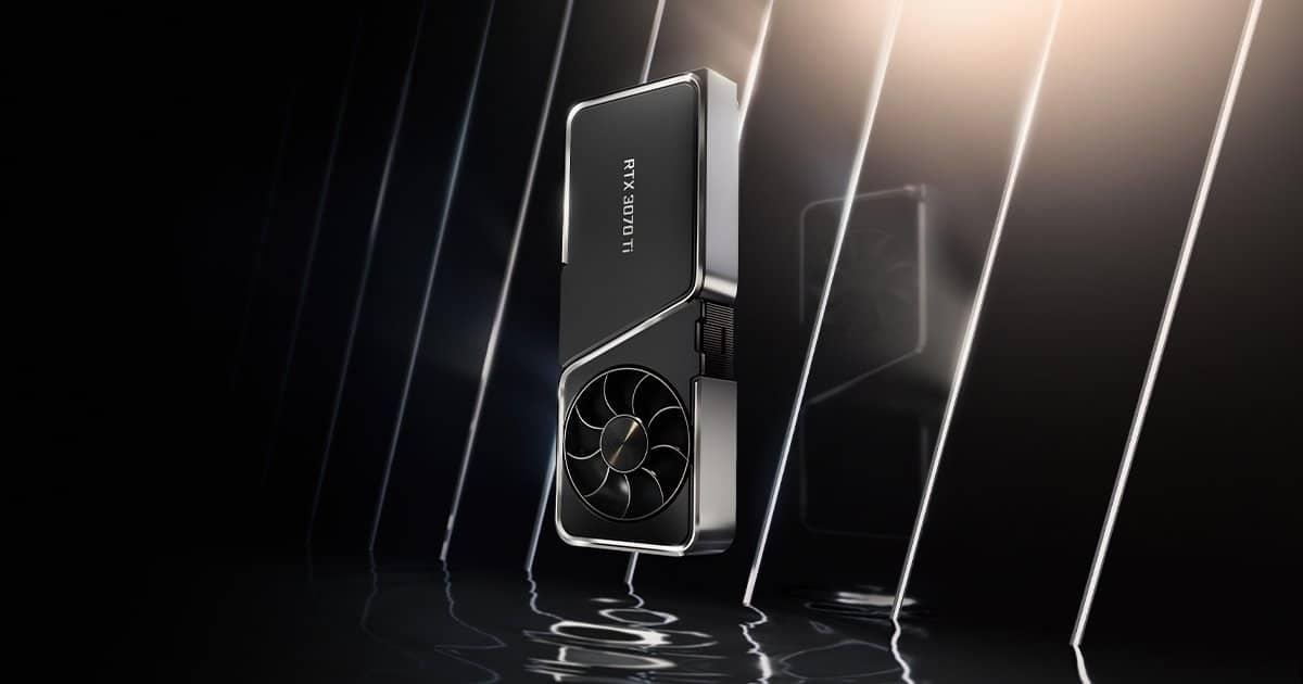 Nvidia ge Force RTX 3070 Ti meilleur prix