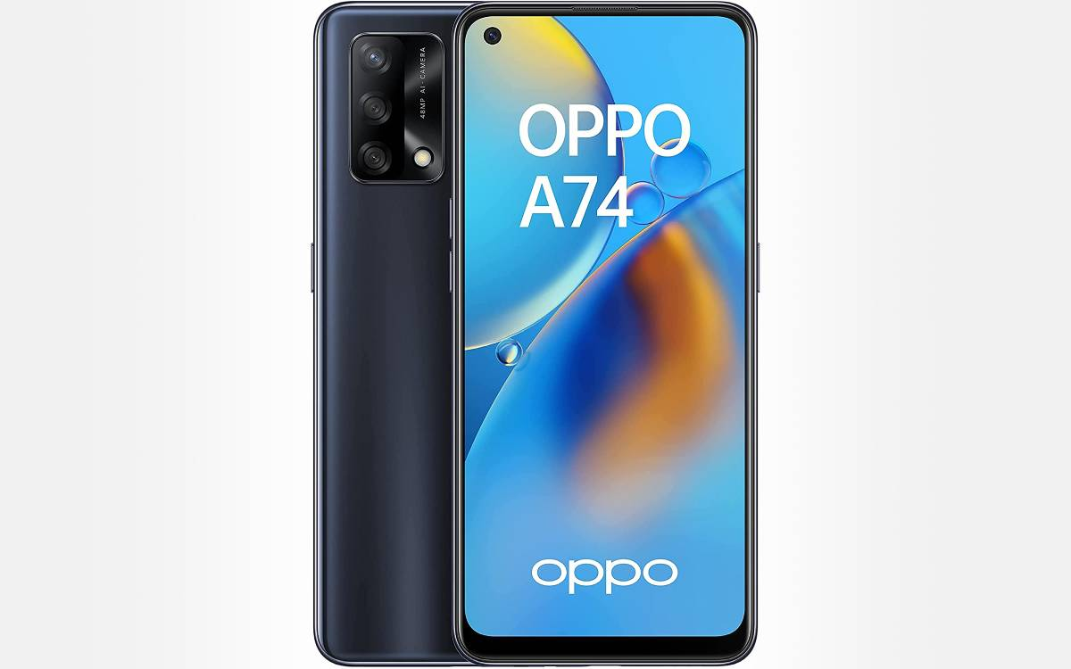 Oppo A74 en promotion