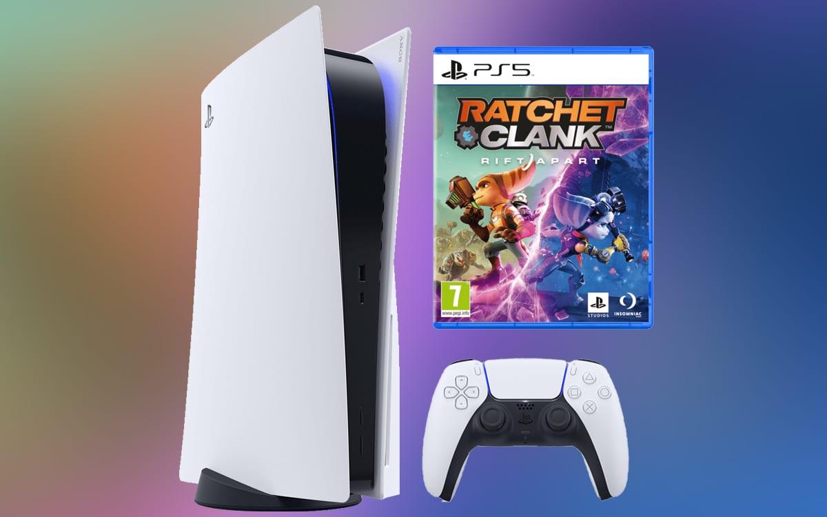 Pack PS5 Ratchet Clank Rift Apart meilleur prix - Le pack PS5 Ratchet and Clank Rift Apart est disponible : où l'acheter ?