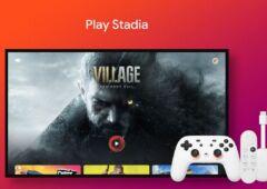Stadia sur Chromecast avec Google TV
