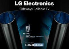 Télévision enroulable LG