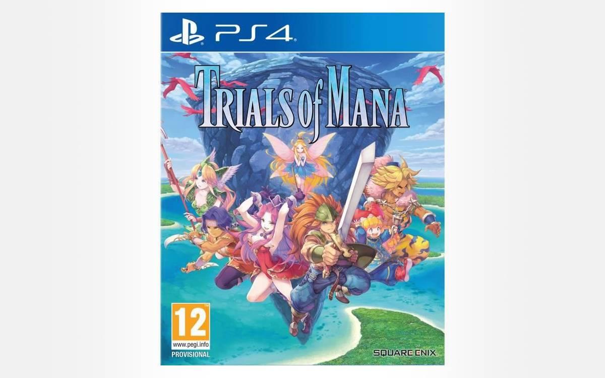 Trials Of Mana pas cher sur PS4