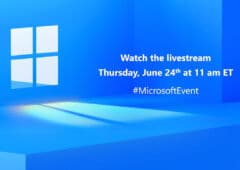 Windows 11 Lancement