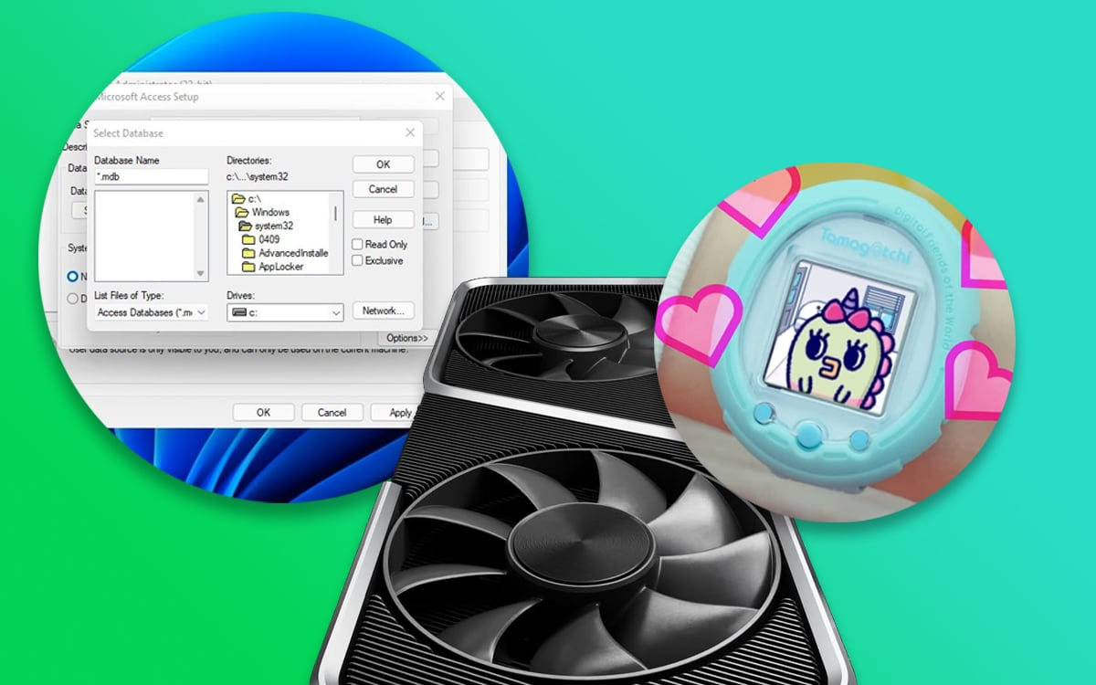 Windows 11 montre tamagotchi rtx 3060