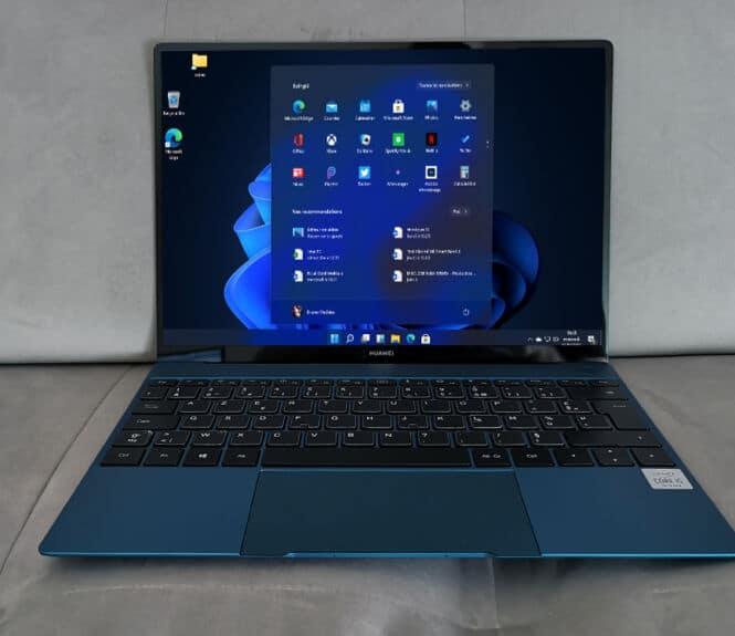 Windows 11 ordinateur PC portable