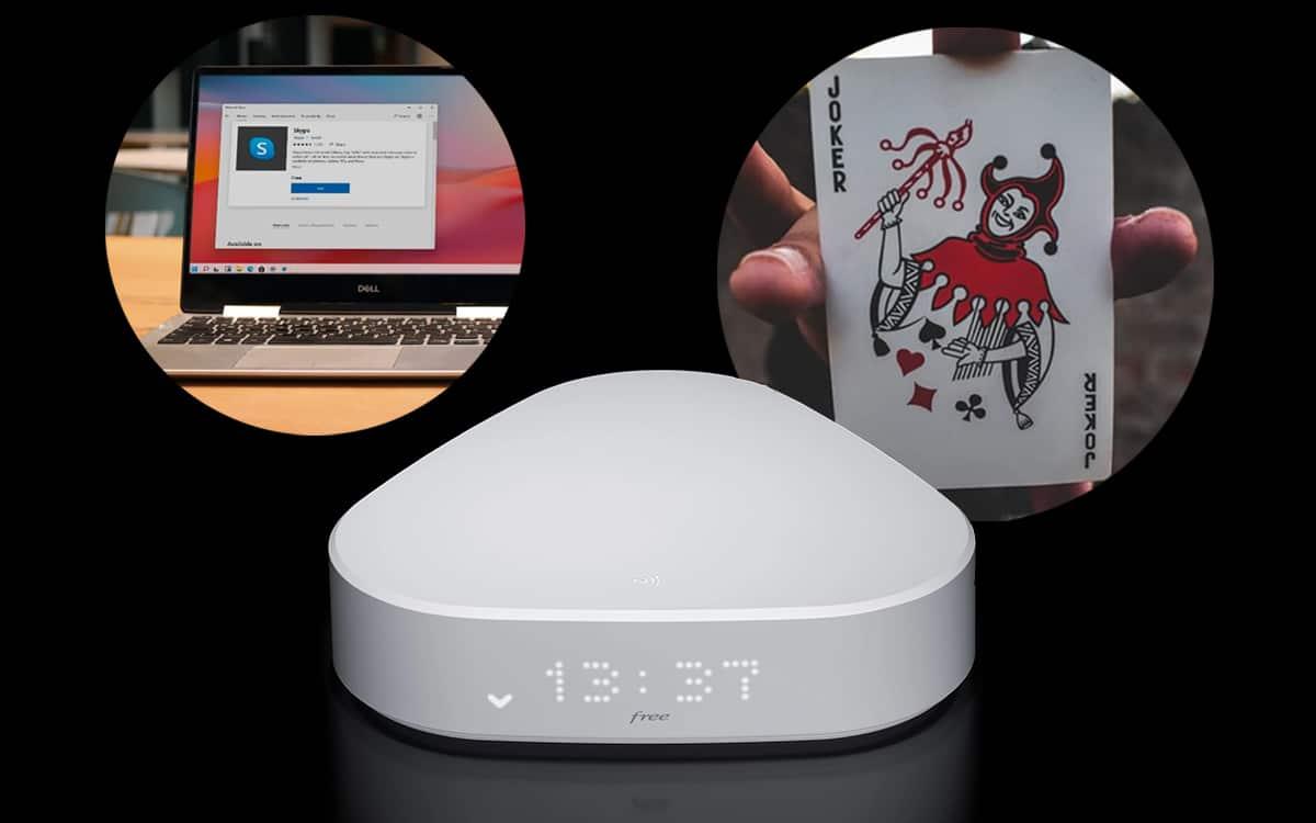 Windows11 Skype Freebox Delta S Malware Joker