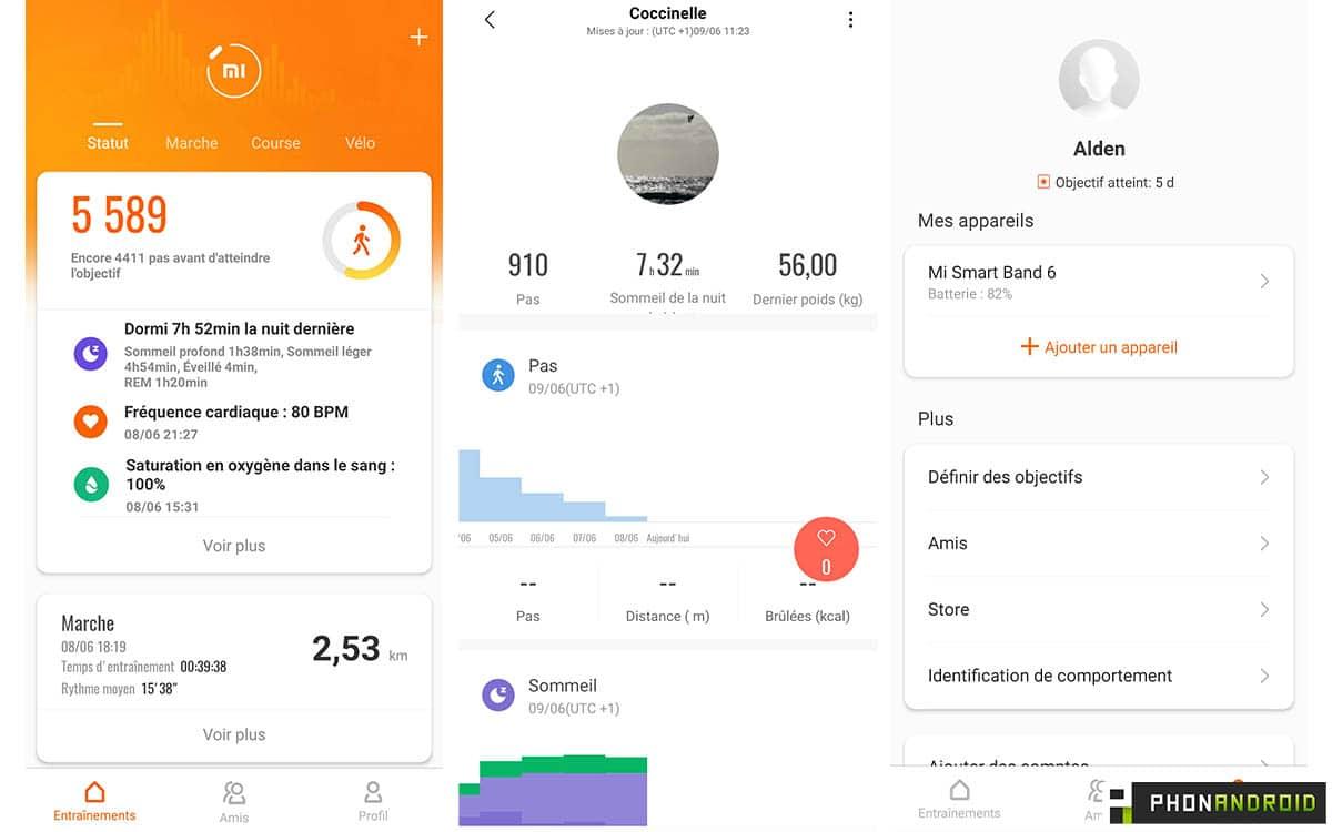 Xiaomi Mi Smart Band 6 capture home