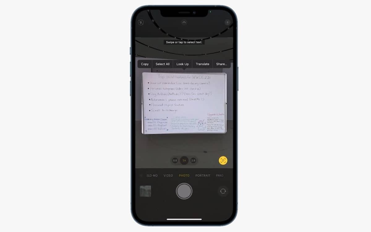 apple app photo ios 15 - Apple présente toutes les nouveautés de la mise à jour