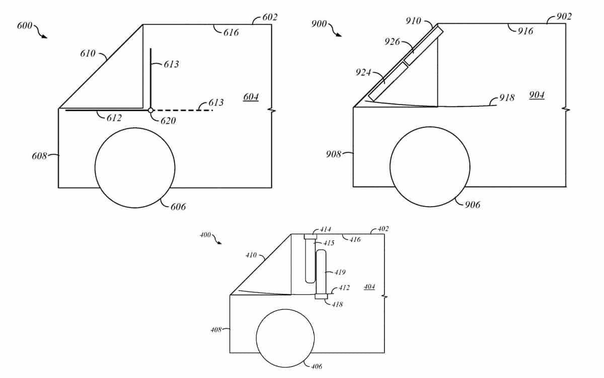 apple car brevet - un airbag révolutionnaire va mieux protéger les passagers en cas d'accident