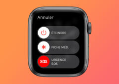 apple watch appels urgence