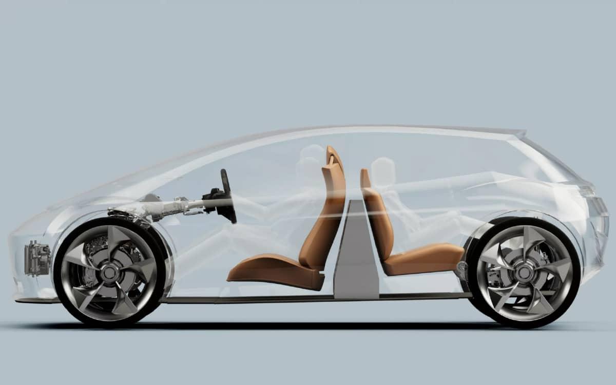 concept voiture batterie verticale