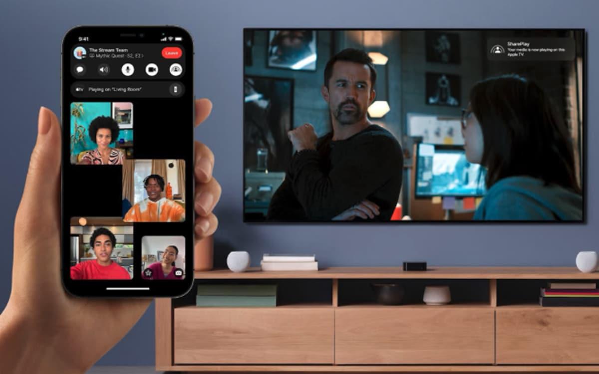 facetime shareplay - Apple présente toutes les nouveautés de la mise à jour