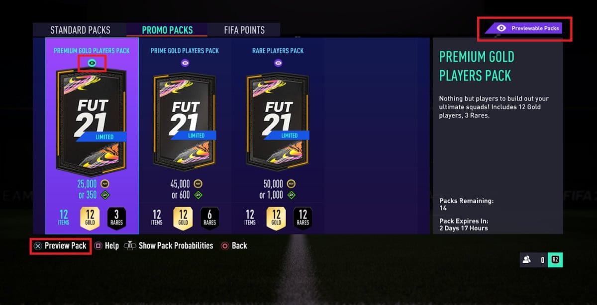 fifa 2021 loot box preview