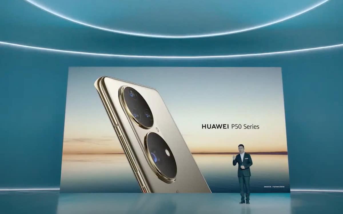 huawei p50 module photo officiel