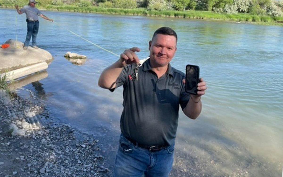 iPhone rivière alarme fonctionne toujours