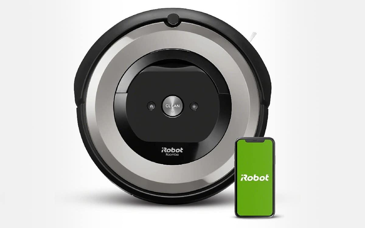 iRobot Roomba e5154 aspirateur - profitez de 50% de réduction sur l'aspirateur robot