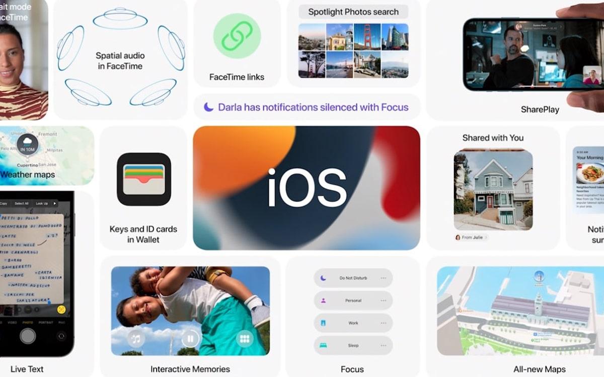 ios 15 - Apple présente toutes les nouveautés de la mise à jour