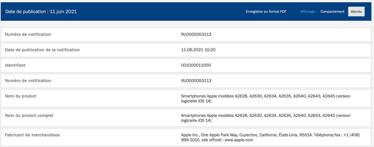 iphone 13 7 modèles