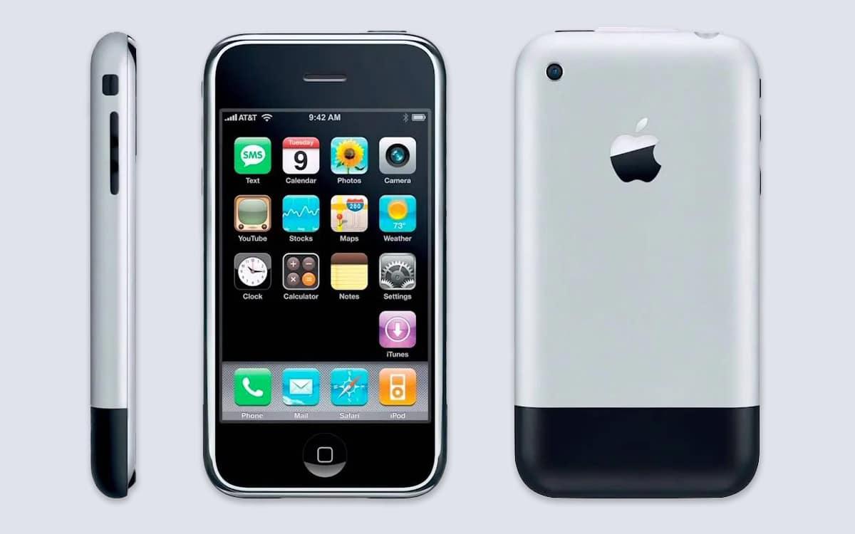 iphone 2007 sortie
