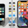 iphone1 iphone12 speed test