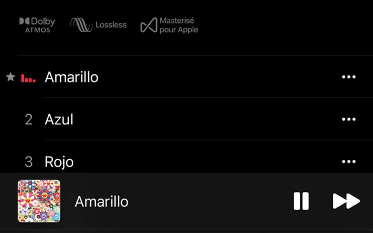 lossless spatial audio
