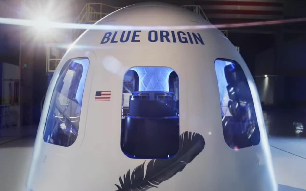 navette Blue Origin