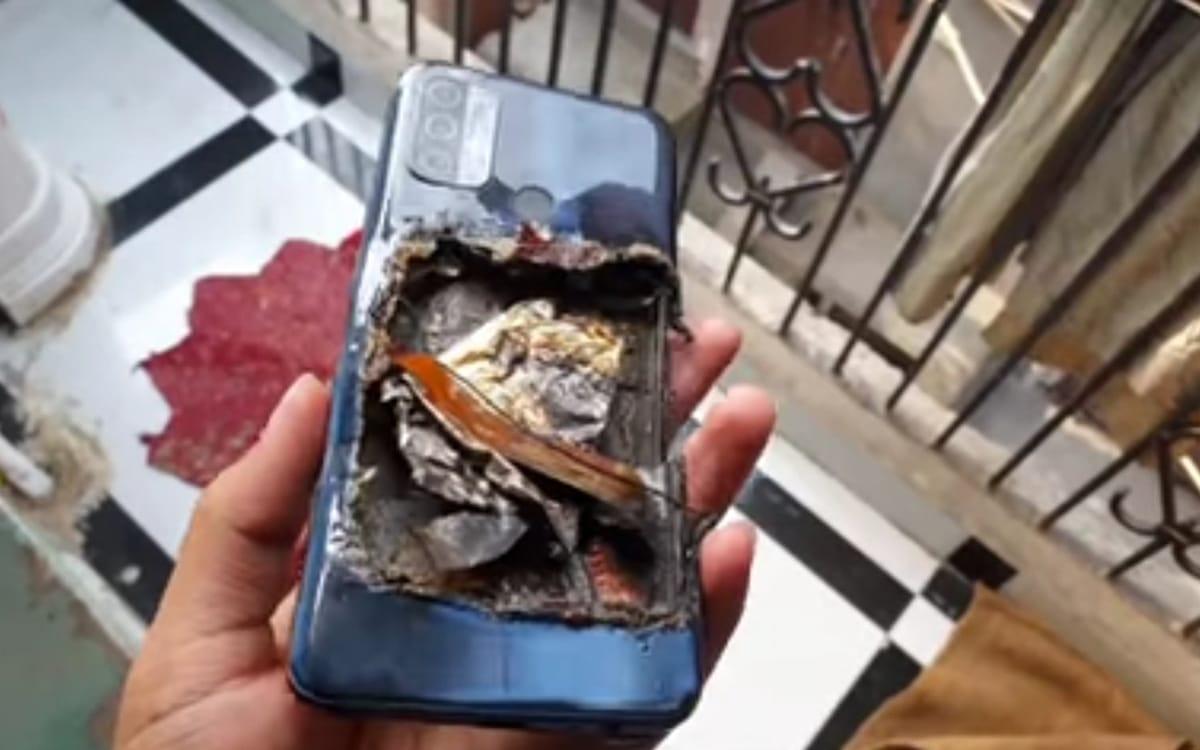 oppo smartphone explodes