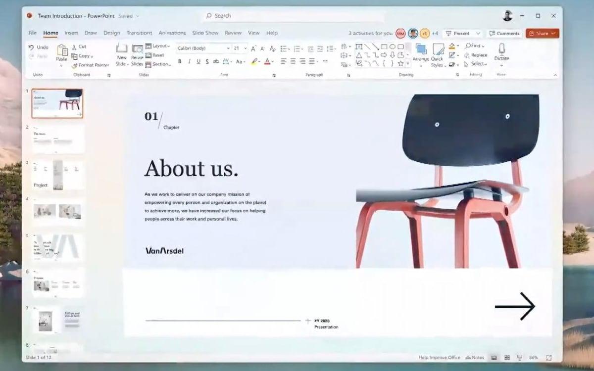 windows 11 PowerPoint