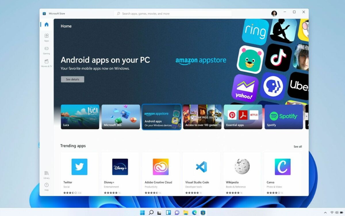 windows-11 amazon appstore