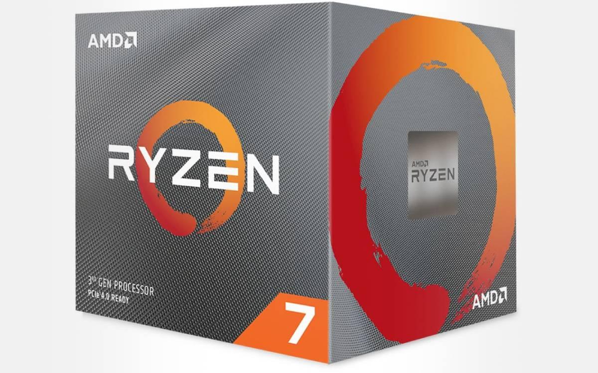 processeur AMD Ryzen 7 3700X en promotion