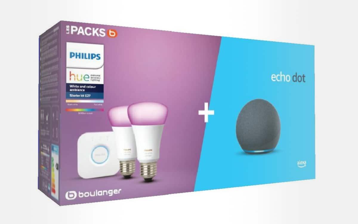 Echo dot 4 Philips Hue