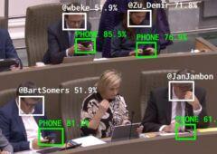 IA député sur leurs smartphones
