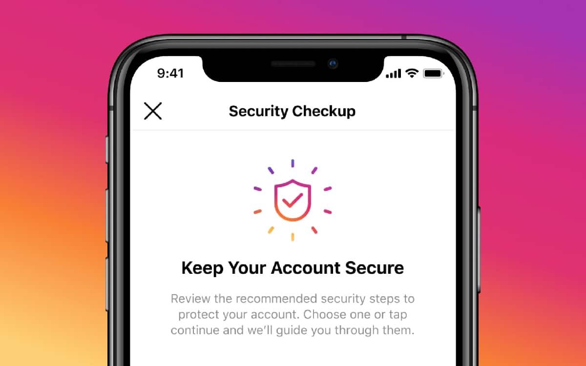 Instagram sécurité