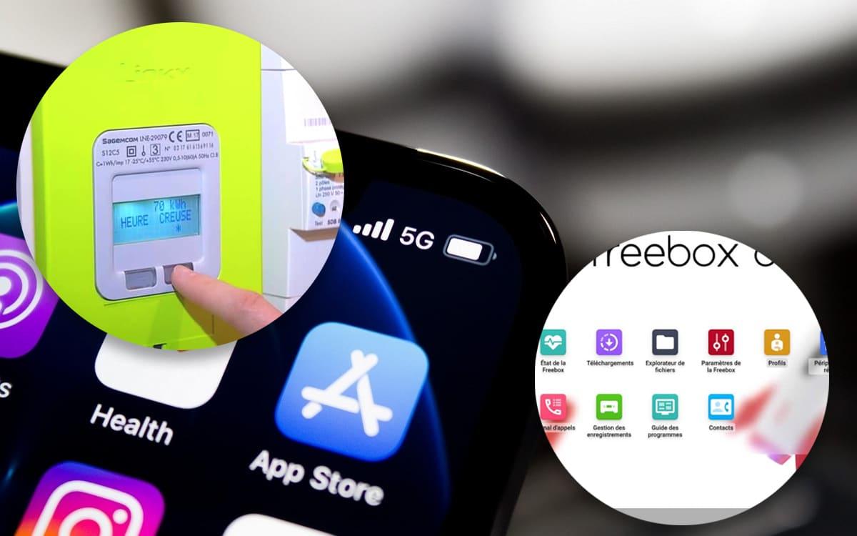Linky iPhone Freebox OS