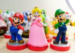 Nintendo Mario Peach Luigi