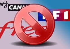Panne Free MyCanal TF1