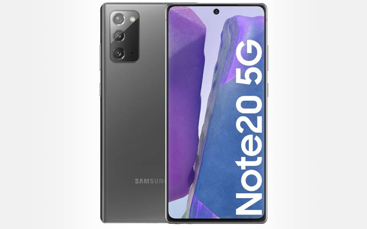 Samsung Galaxy Note 20 5G en promotion