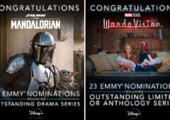 The Mandalorian Wandavision Emmy Awards 2021