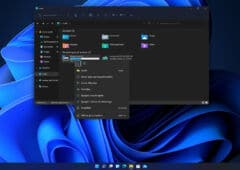 Windows 11 Clic droit