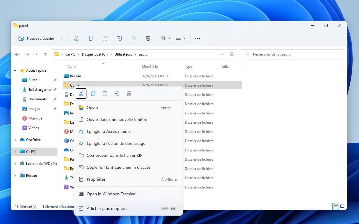 Windows 11 Right Click File Explorer