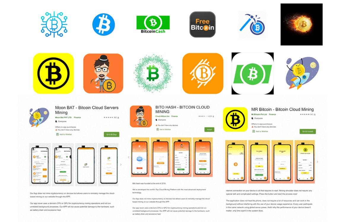 arnaque android bitcoin