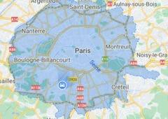 google maps zone faible emission 2