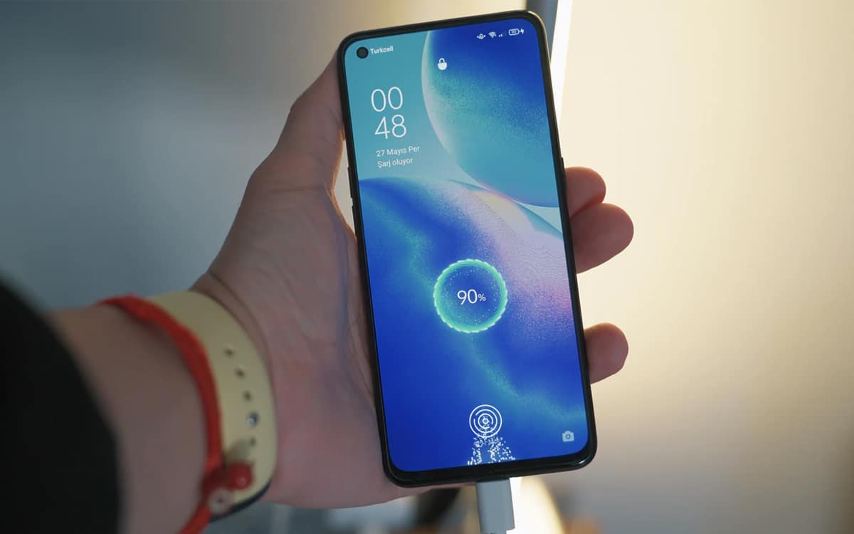 oppo fast charge defaut