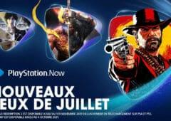 playstation now juillet 2021