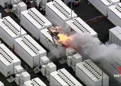tesla batterie explosion australie