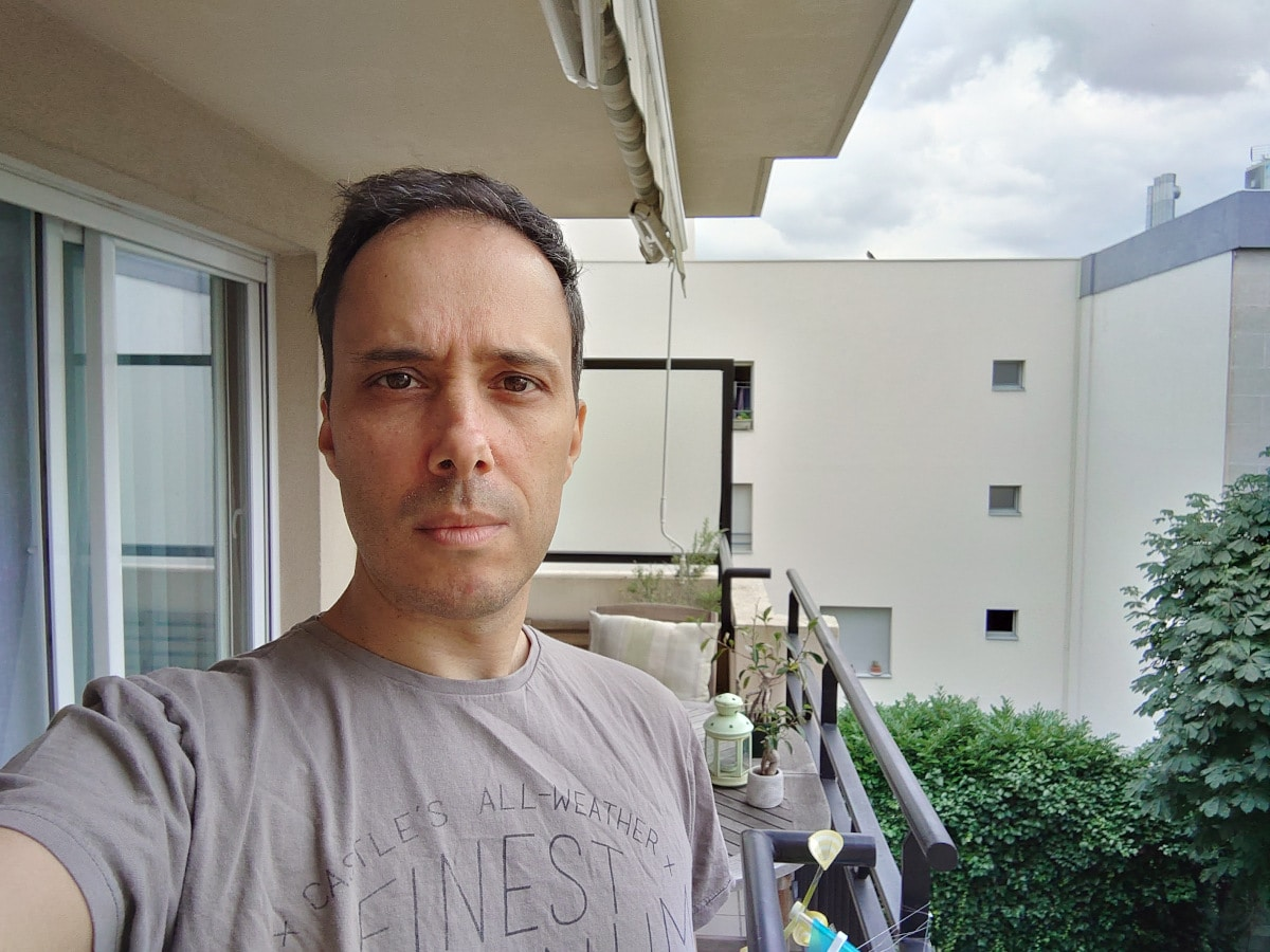 test xperia 1 mark 3 selfie